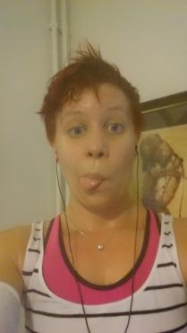Sweaty mess!!